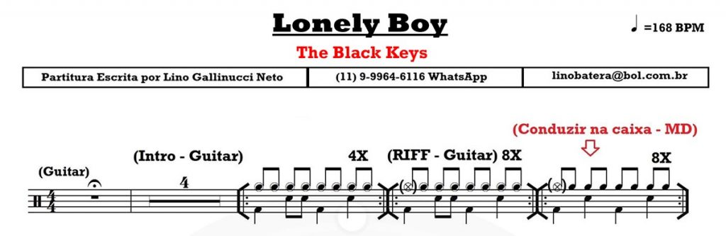 lonely boy black keys how to play