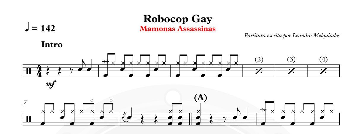 Mamonas Assassinas - Robocop Gay -